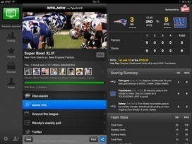 Thoughts on the Digital Video Space: The 2nd Screen Super Bowl - Lots of Activity   Social TV & Second Screen Information Repository   Scoop.it