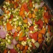Moong Salad | Indian Vegetarian Recipes | Indian Recipes | Indian Food Recipes | Indian Microwave Recipes | Vegetarian Recipes Indian | Scoop.it
