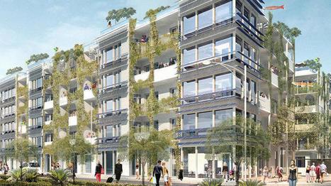 En Allemagne, ces deux immeubles vont produire leur énergie et dépolluer l'air | Ca m'interpelle... | Scoop.it