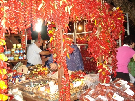 Chillies in Calabria | Italian foodie delights | Scoop.it