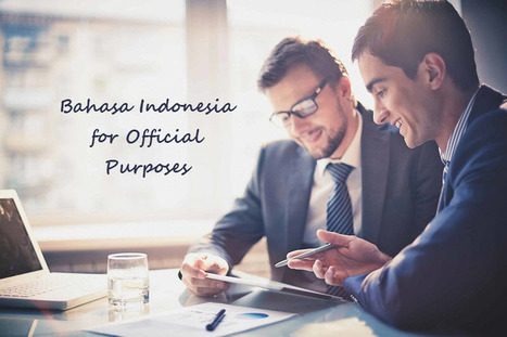 Translating Bahasa Indonesia for Official Purposes | Translations | Scoop.it