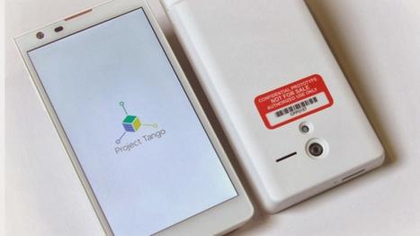 El prototipo de Google Project Tango tiene cuatro cámaras | MSI | Scoop.it