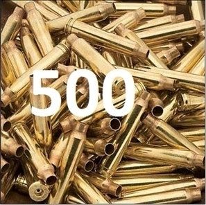 .308, 7.62 NATO Military once fired brass   Fired Once Brass   Scoop.it