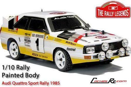 Nuevas carrocerias Rally Legends: Audi Quattro, Ford escort y Lancia 037 Evo2 - CochesRc.com | Modelmania | Scoop.it
