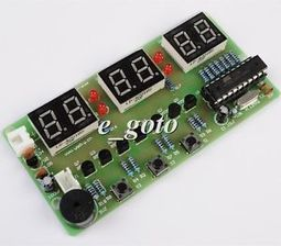 C51 Electronic Clock Suite DIY Kits Electronic for Arduino Raspberry pi new | Raspberry Pi | Scoop.it