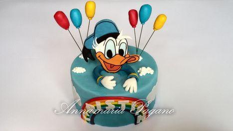 Cake Topper Paperino in 2D   Cake Design e Decorazioni Torte   Scoop.it