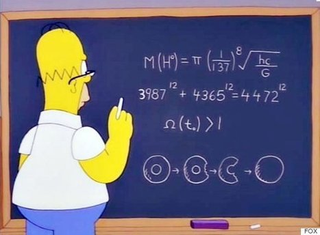 Homer Simpson solved the mass of the Higgs boson in 1998   Geek.com   Public Relations & Social Media Insight   Scoop.it