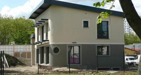 Gennevilliers (92). Une maison au toit végétalisé | Le Béton, naturellement | Solutions béton pour maisons individuelles performantes | Scoop.it