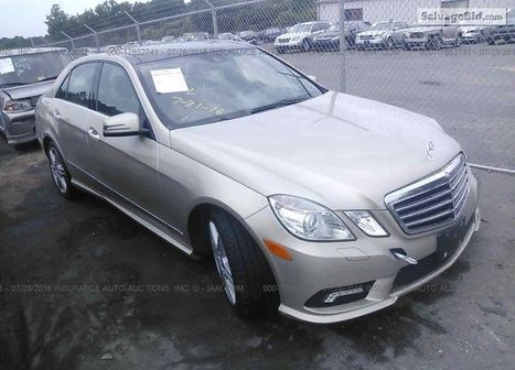 2010 MERCEDES-BENZ E | Salvage Auto Auction | Scoop.it