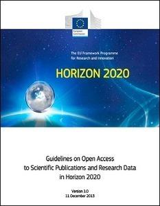 Directrices de Acceso Abierto a las publicaciones científicas y los datos de la investigación   HORIZON 2020   Horizon 2020   Scoop.it