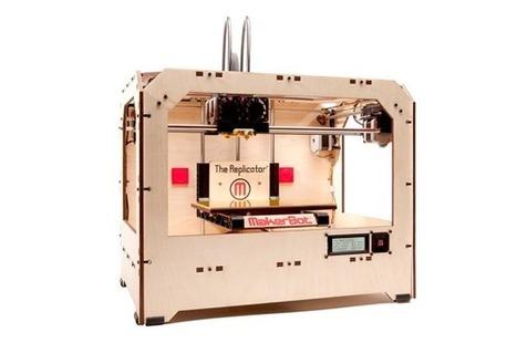 Chicago : Une bibliothèque qui ouvre un atelier d'impression 3D | actualit'thécaires | Scoop.it