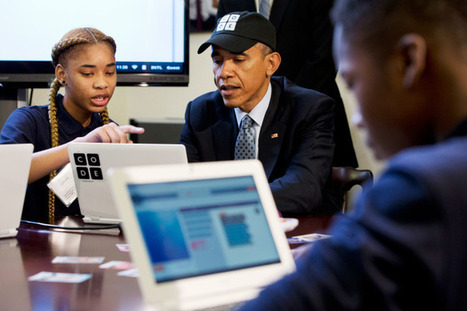 Obama Becomes First President to Write a Computer Program | WIRED | EAL in Computer Science | Scoop.it