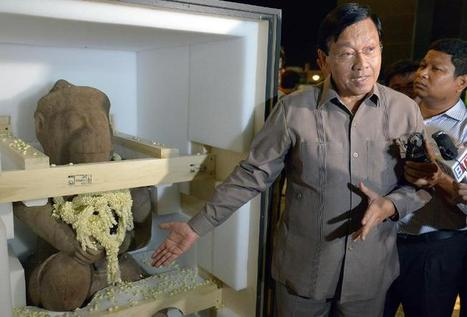 US Museum returns looted statue to Cambodia - Business Insider | News in Conservation | Scoop.it