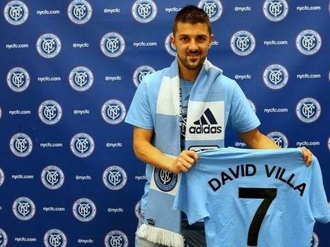 Official! David Villa Towards New York City FC | Waksap Sport | waksapblog | Scoop.it