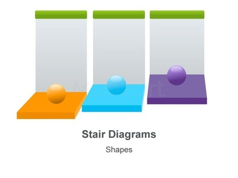 Steps or Stages Template for Keynote Presentation | steps - stages | Scoop.it