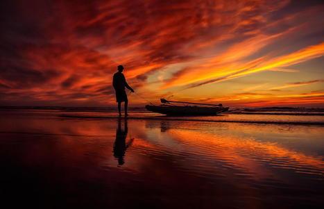 Beach Sunset Pictures | omgamazingpics | Scoop.it