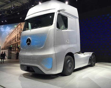 With Mercedes-Benz 2025 Future Truck, Daimler unveils a vision of future haulers without mirrors or headlights | Transportation & Engines | Scoop.it