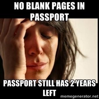 No blank pages in Passport  Passport still has 2 …