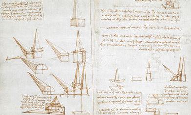 Leonardo da Vinci's notebooks are beautiful works of art in themselves | KES Art | Scoop.it