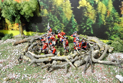 60th Royals defensive position | Military Miniatures H.Q. | Scoop.it