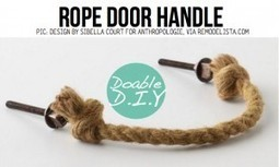 DIY-Rope Ideas | DIY-UPCYCLING-RECYCLED | Scoop.it