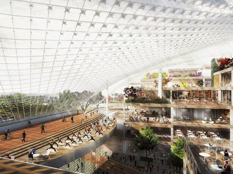 Your First Look at Google's Reconfigurable, See-Through HQ | Kyle Vanhemert | WIRED | LibertyE Global Renaissance | Scoop.it
