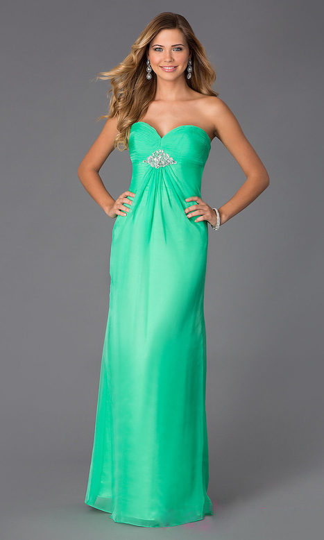 Elegant Alyce Paris 35505 Strapless Beaded Sweetheart Long Prom Gown [AL-35505] - $171.00 : Prom Dresses | Homecoming Dresses | girlsdresseshop | Scoop.it