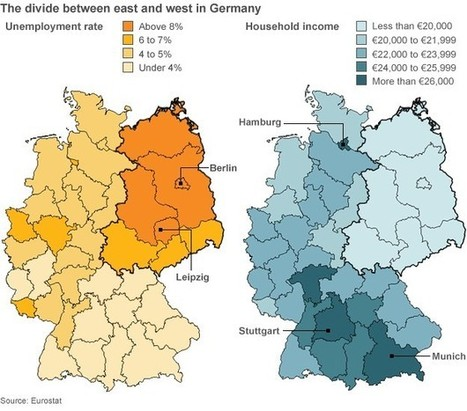 Germany in figures | Geography Education | Scoop.it