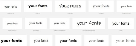 Wordmark.it - choose the best font | Digital Presentations in Education | Scoop.it