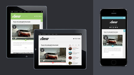 10+ Free Responsive WordPress Themes with Tumblog Style | Smashmagz | Smashmagz | Scoop.it