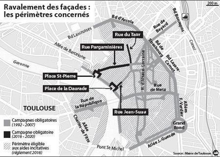 Ravalement des façades : une nouvelle campagne lancée | immobilier toulouse | Scoop.it