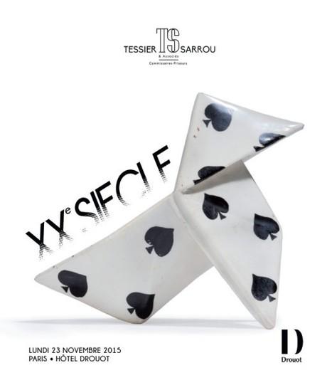 Vente  XXe SIECLE - Tessier & Sarrou, expert CEFA Marc Mineray | CEFA | Scoop.it