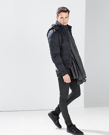 QUILTED JACKET WITH HOOD on allMemoirs | Online Shopping & Fashion Tips | Scoop.it