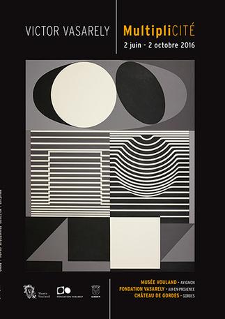 MultipliCITÉ - Victor Vasarely à l'occasion de son 110ème anniversaire exposé à Aix-en-Provence, Avignon et Gordes, du 02 juin au 02 octobre 2016 | Passage & Marseille | franco-allemand | Scoop.it