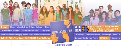 Bullying and Cyberbullying Prevention for kids and teens. | Elementary and Middle School Bullying | Scoop.it