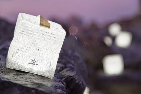 Lanterna solar em origami dá luz sem gastar um cêntimo | Criatividade, inovação, marketing | Scoop.it