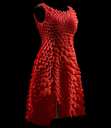 India Art n Design Global Hop : Tech Style: Kinematic Petals Dress | India Art n Design - Design | Scoop.it