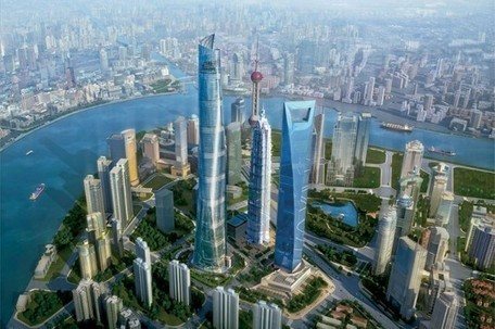 Gensler's Sustainable Shanghai Tower: Asia's Tallest Skyscraper | Interactive Architecture | Scoop.it