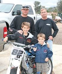 11-Year-Old Travis Petton IV Excels in Flat Track Motorcycle Racing - Ramona Journal | California Flat Track Association (CFTA) | Scoop.it