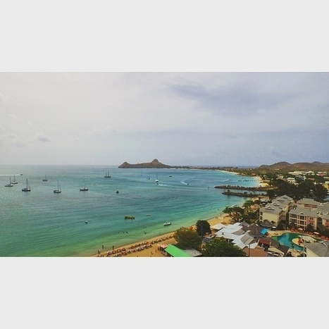 See Saint Lucia by Air: Reduit Beach To Pigeon Island | Saint Lucia Tourism | Scoop.it
