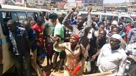 Gunfire as KCCA, Police Evict Vendors From Kampala Streets | | UgandaNuz | Scoop.it