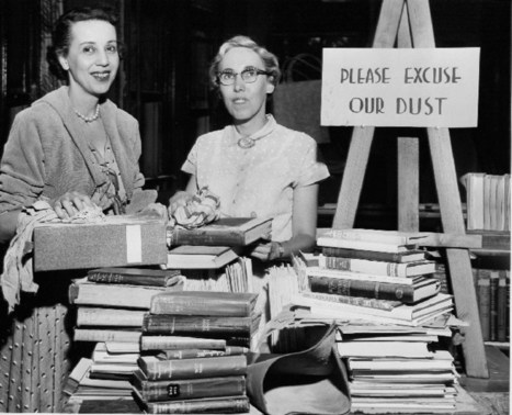 25 Vintage Photos of Librarians Being Awesome | Contemporary learning | Scoop.it