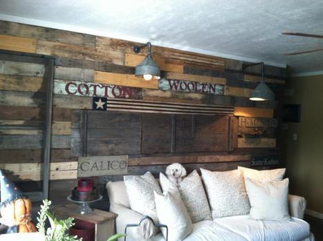 Pallet wall decor | DIY | Scoop.it