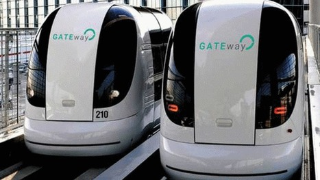 London's first driverless cars revealed - BBC News | An odd mix of stuff | Scoop.it