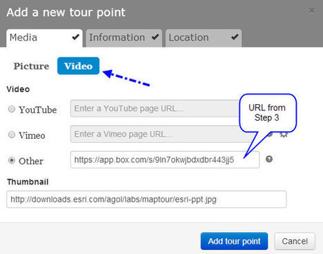 Adding PowerPoint presentations to your story map map tours | Geoprocessing | Scoop.it