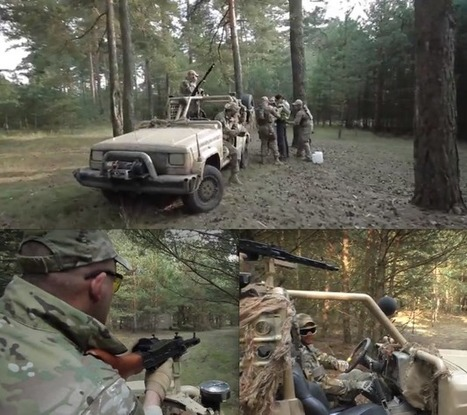 Sparky Sunday! - JEEPS #1 - Combat Airsoft Jeep @ Chernobyl Missing Secrets OP from KEKS! | Thumpy's 3D House of Airsoft™ @ Scoop.it | Scoop.it