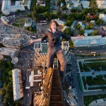 Climbing to the Top of Moscow I Without Any Safety Gear | Kissmylilstar pictures i like.... | Scoop.it