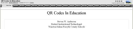QR Codes In Education | Using QR Codes in education | Scoop.it