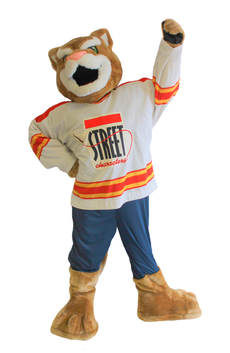 Street Characters Inc. Mascot of the month for June 2016! Ozzie from the Kane County Cougars! | Mascots | Scoop.it