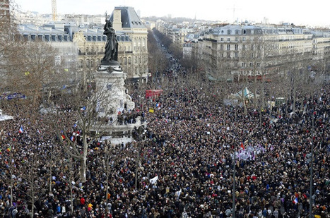 Paris Unity Rally Today; Livestream Feed - Street I Am   TOP STORIES   Scoop.it
